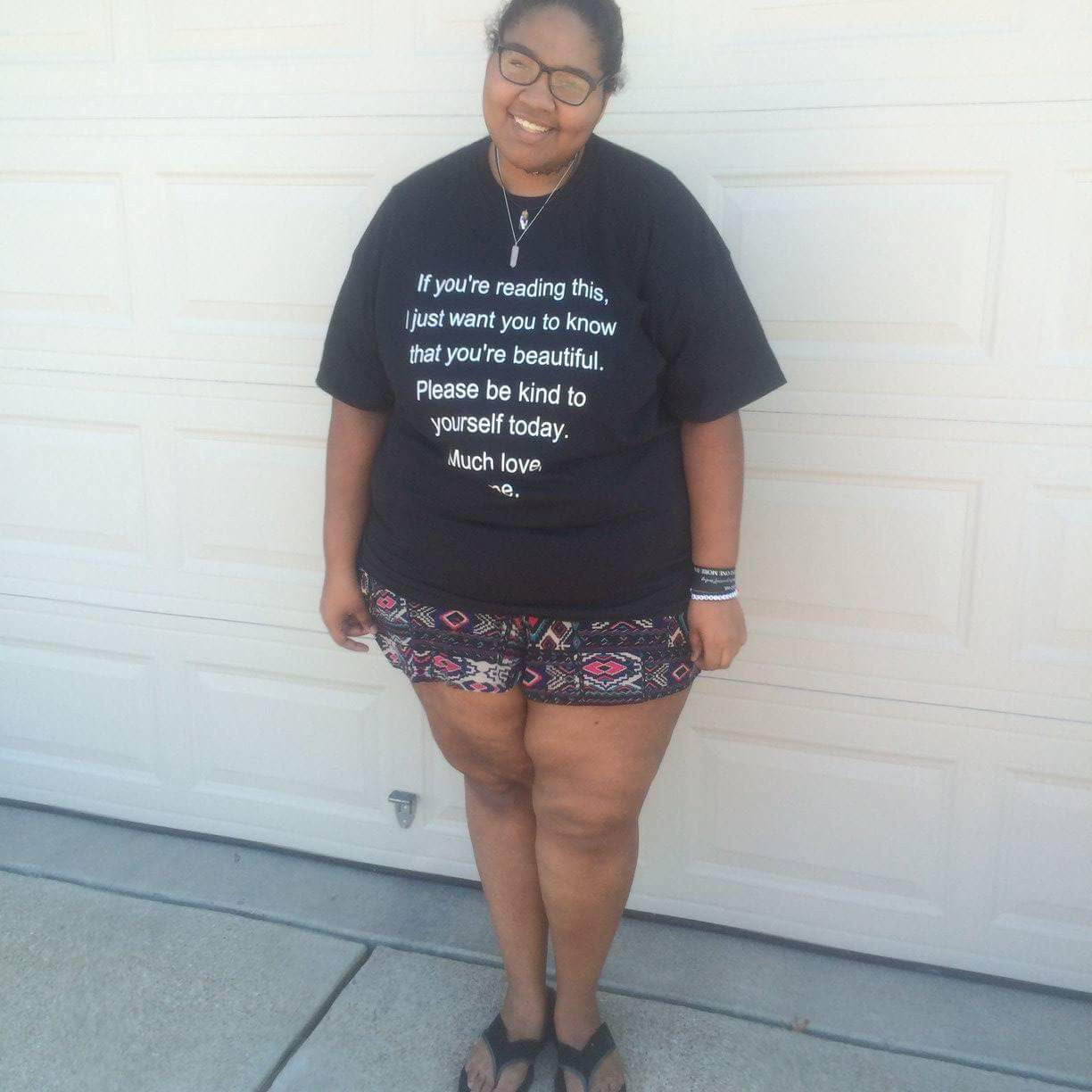Self Harm Prevention/ Self Love Awareness T-shirt ♥ - Underlying Beauty - 3