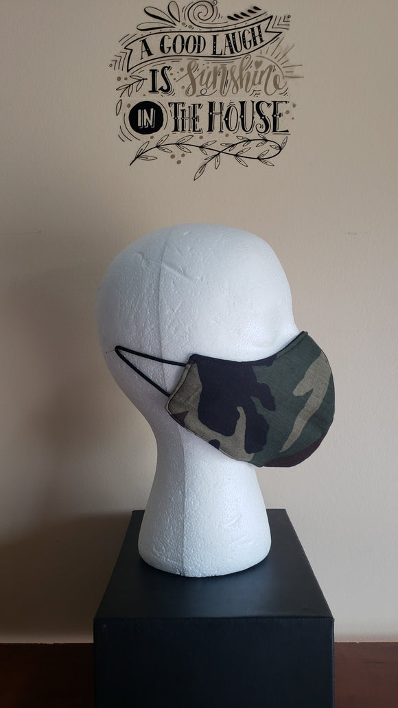 Pocket Mask w/Removable Filter - CAMO