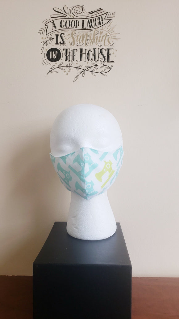 Filtered Cotton Mask - SEWMACHINE