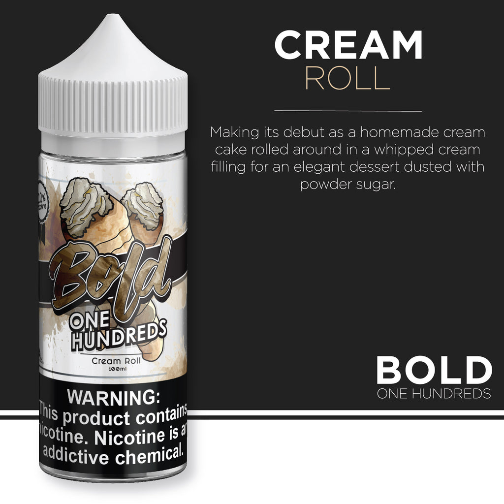 Bold One Hundreds - Cream Roll 100ml