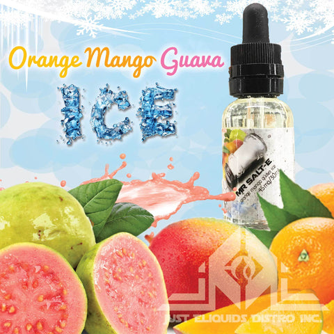 Mr.Salt-E Orange Mango Guava ICE