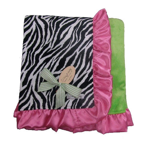 Zebra Tween Blanket