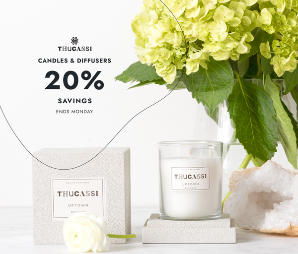 Thucassi Candles, Diffusers & Match Boxes