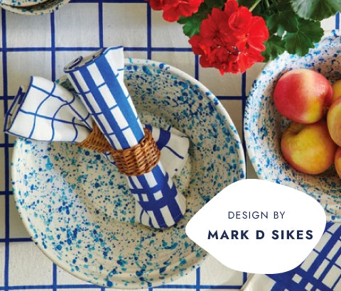 Dishware, Napkins & More by Mike D Sikes