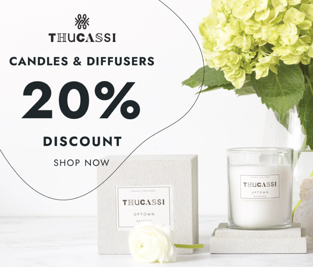 Thucassi Candles - Save 20%