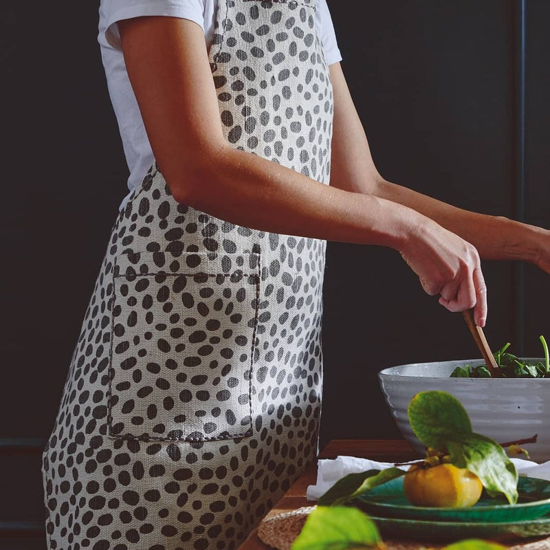 Kitchen Dalmation Print Apron by Pigeon & Poodle