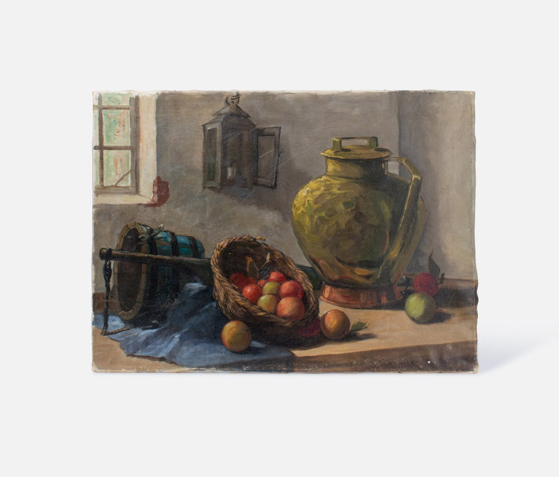 Still Life Painting Canvas