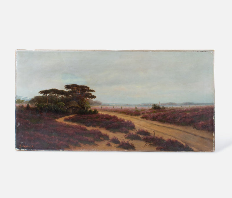 Valley with Trees Canvas