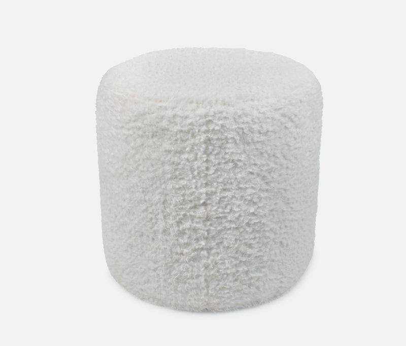 Max Pouf Bear Off White
