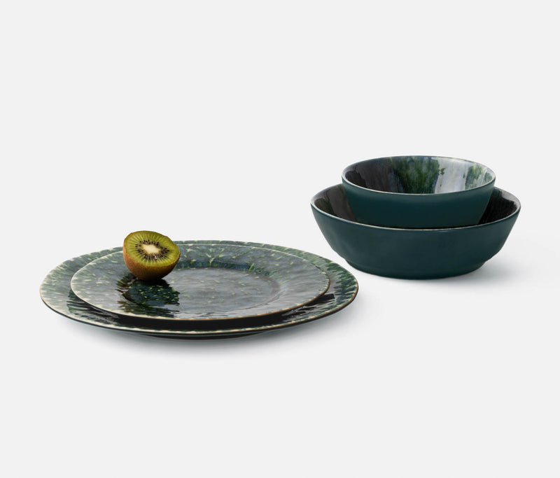 Blue Pheasant Tabletop Bria Dinnerware - Teal