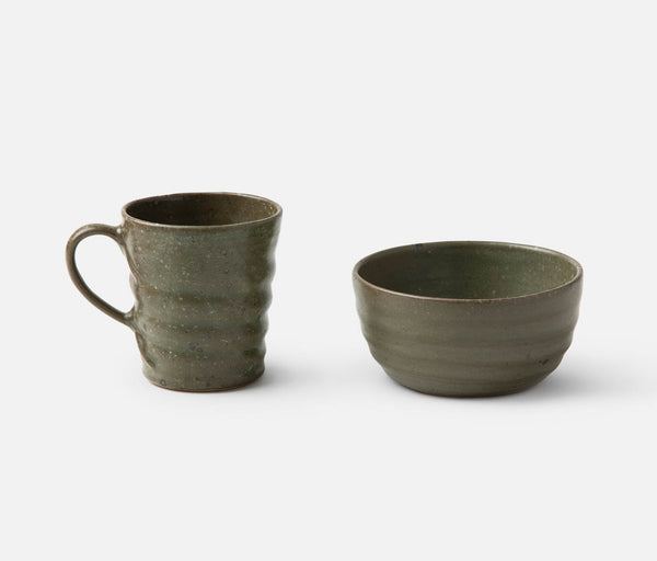 Hayes Dinnerware - Gray Salt Glaze