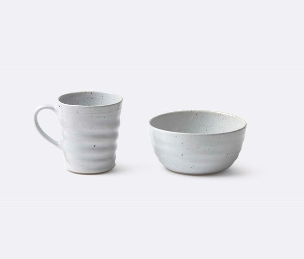 Hayes Dinnerware - White Salt Glaze