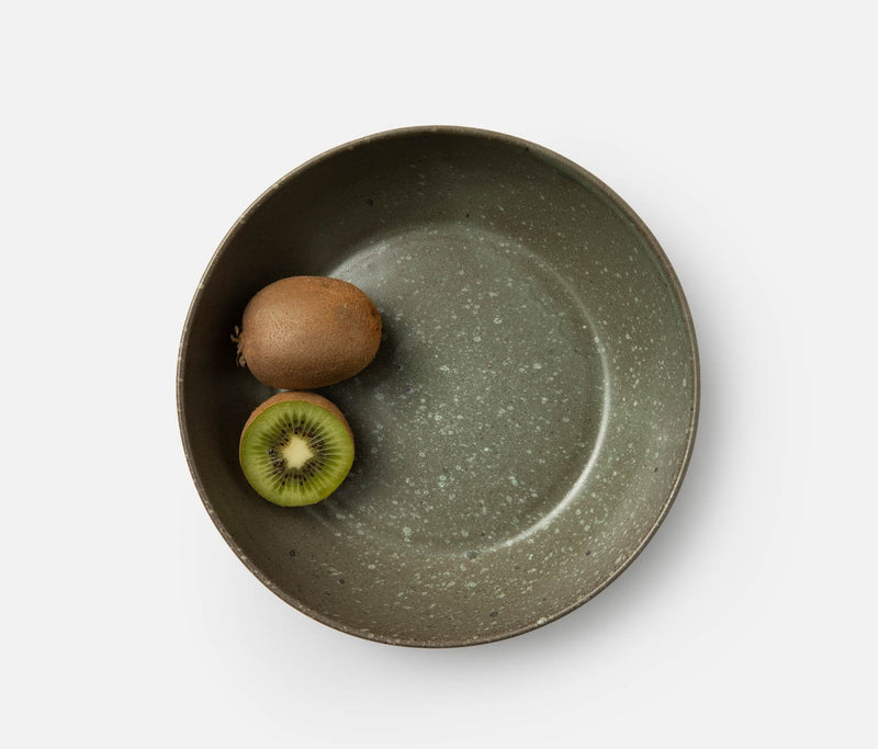 Hayes Serving Bowl - Gray Salt Glaze