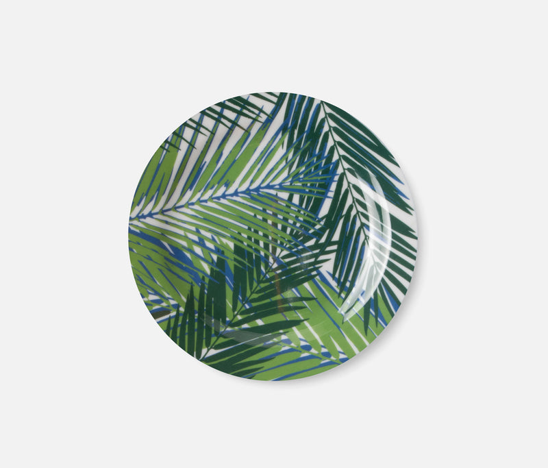 Blue Pheasant Tabletop Kinsey Palm Leaf Dinnerware