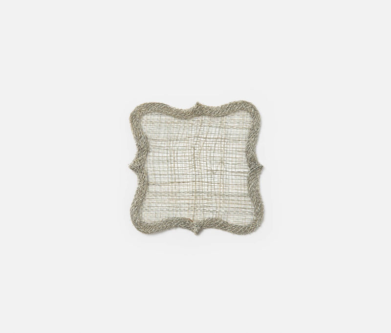 Lorisa Coaster - Warm Gray
