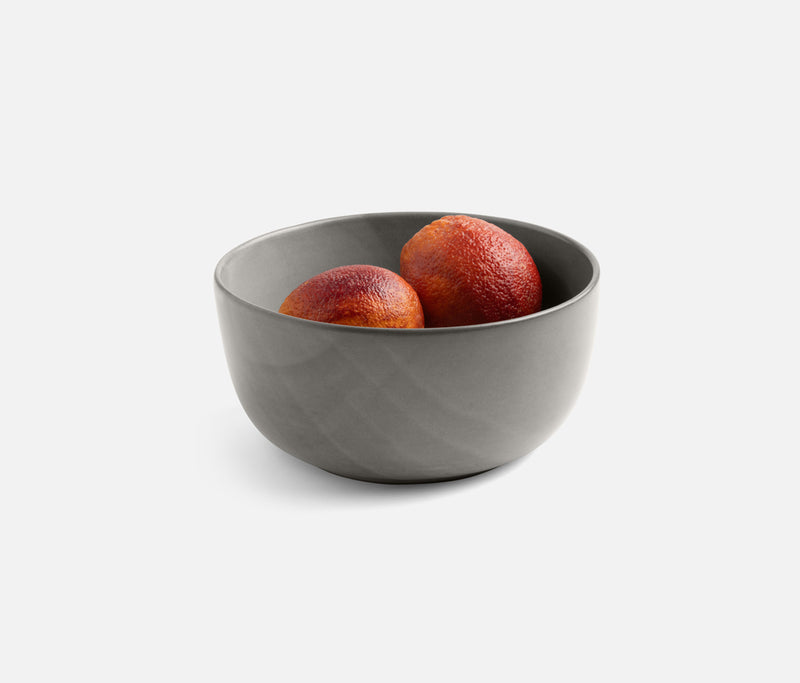 Marcus Cement Glaze Deep Serving Bowls - Cement Glaze