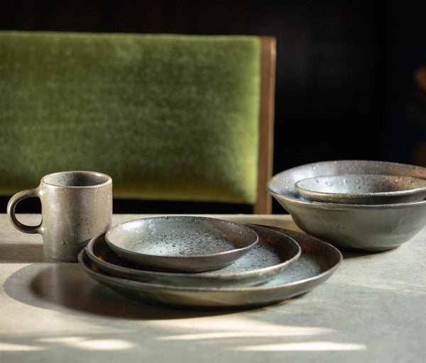 Marcus Dinnerware - Gray Salt Glaze