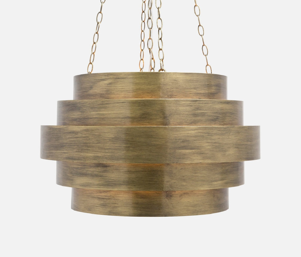 Thyra Chandelier Aged Gold Metal