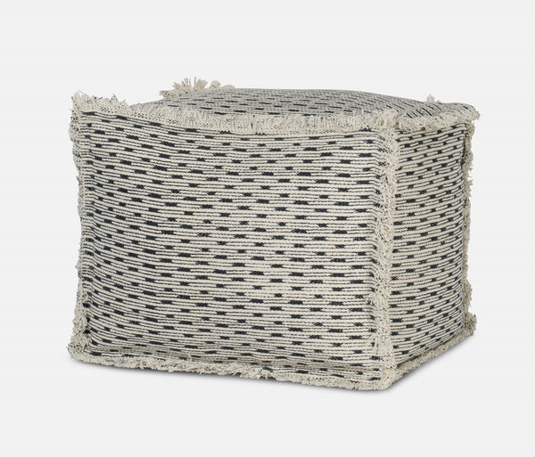 Cushion Pouf Gray