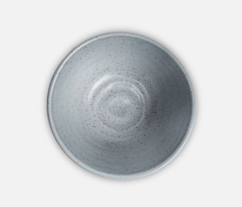 Blue Pheasant Tabletop Speckled Bowl Dinnerware - Gray