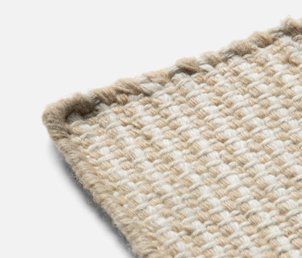 Marley Rug - Natural/Ivory Performance Yarn