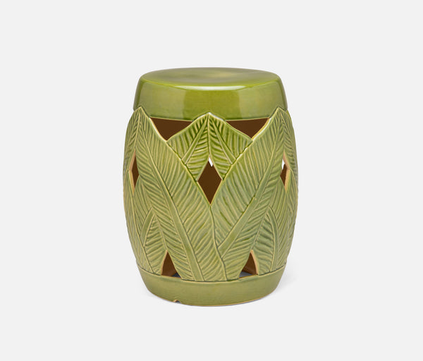 Rosalba Stools - Green Gloss Ceramic