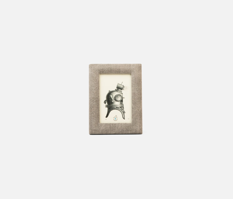 Kemi Frame - Light Gray Cotton Jute