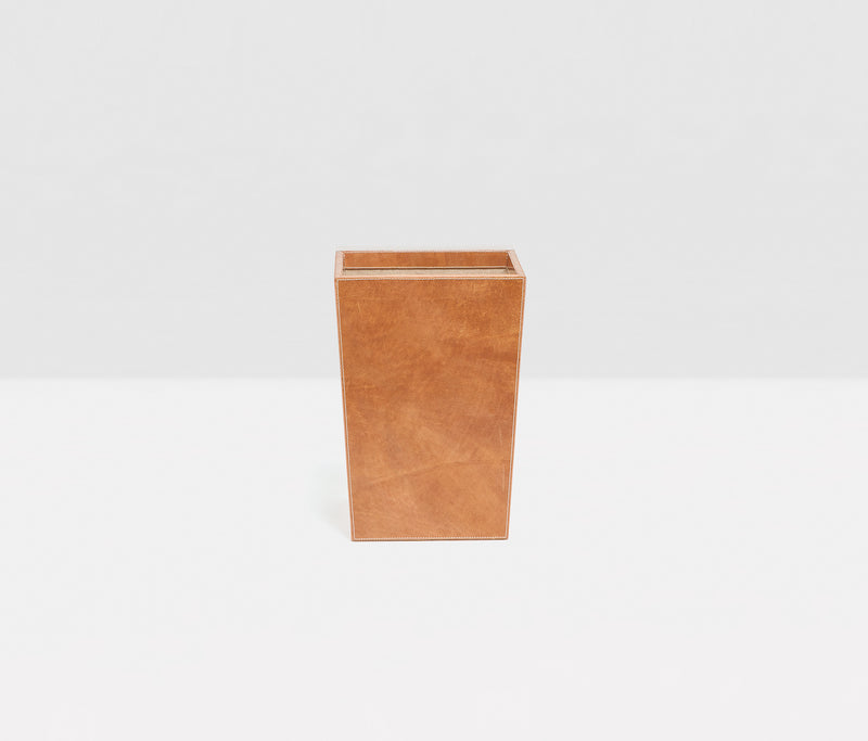 Leon Desk Collection - Aged Camel Full-Grain Leather
