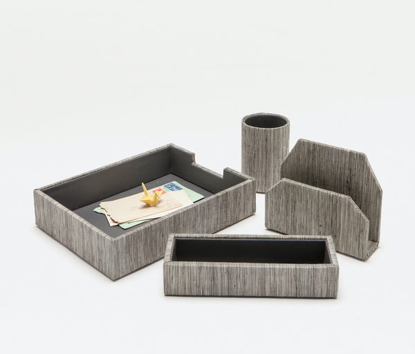 Napali Desk Collection - Dark Gray Poly Hemp