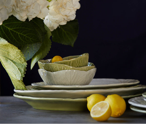 Clarise Dinnerware – Soft Green