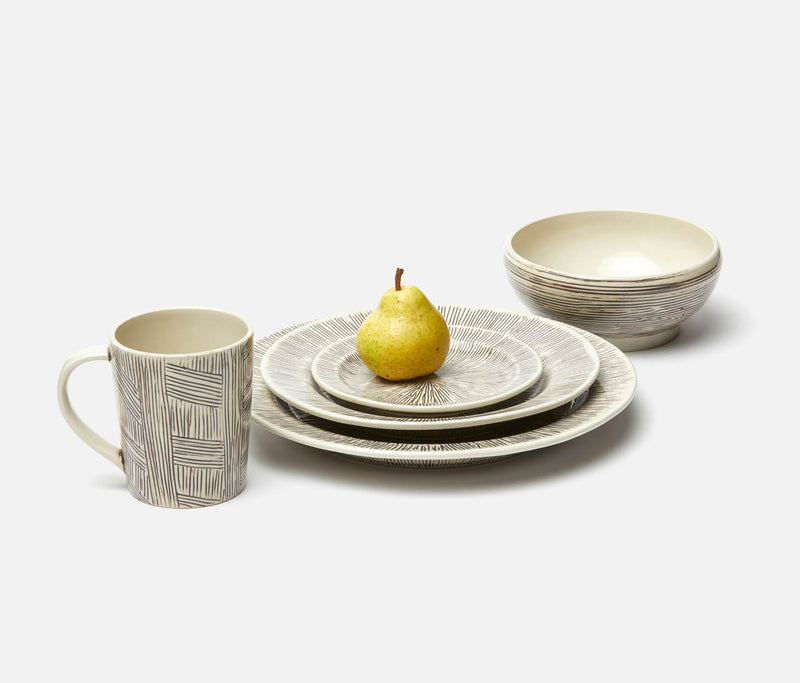 Nolan Dinnerware – Black/Cream