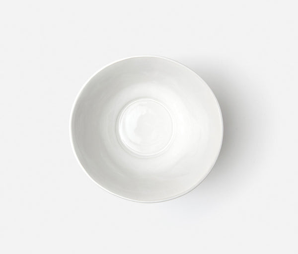 Clara Serving Bowl Large -  Bumpy white