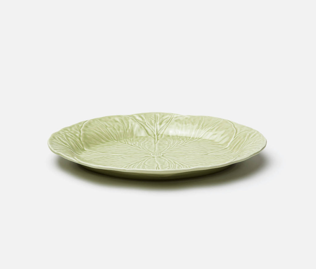 Clarise Oval Serving Platter - Soft Green