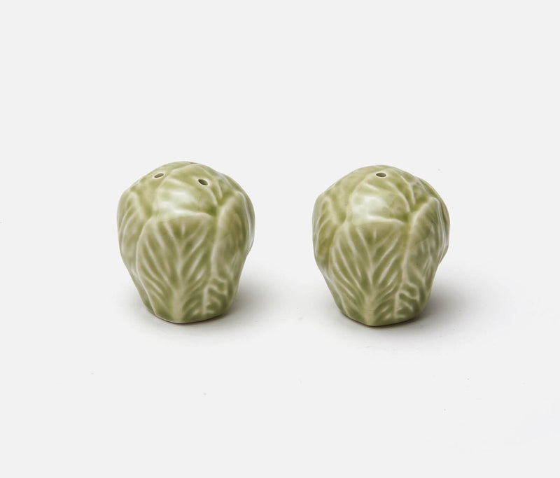 Clarise Salt & Pepper Shaker Set - Soft Green