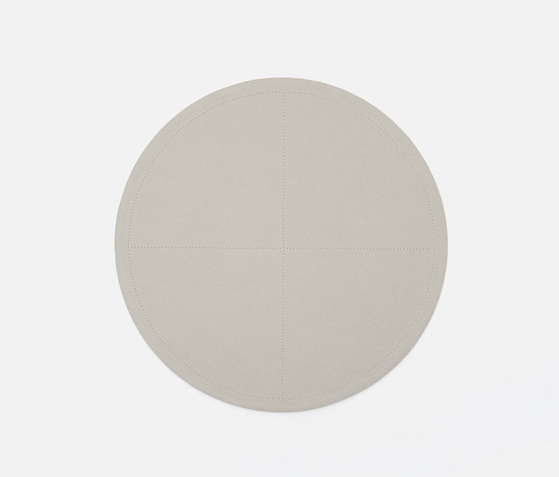 Evan Placemats - Light Gray