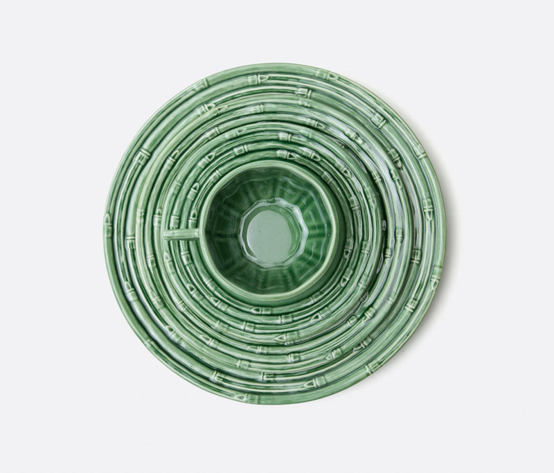 Blue Pheasant Tabletop Gia Dinnerware -  Green Bamboo