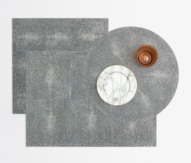 Henry Placemats - Cool Gray
