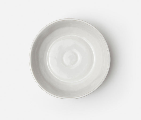 Lori Serving Bowl - Bumpy White