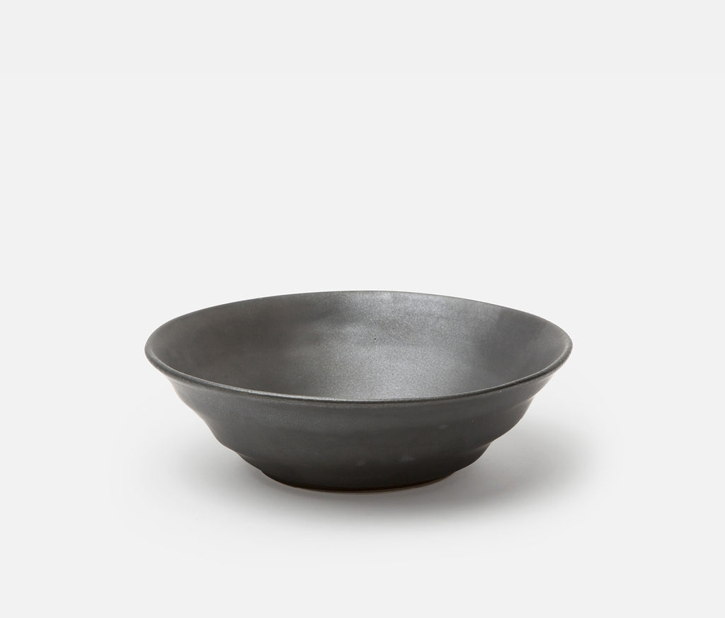 Marcus Serving Bowl - Black Glaze