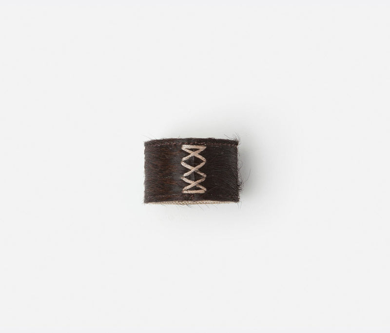 Morgan Napkin Ring - Dark Brown