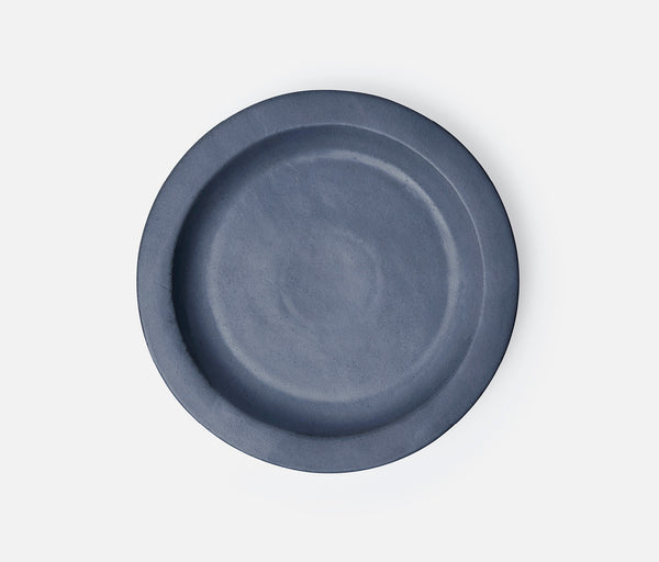 Thanos Round Serving Platters - Matte Navy