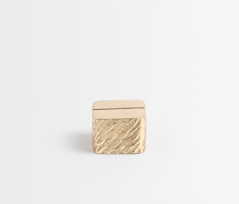Zachary Card Holder - Gold
