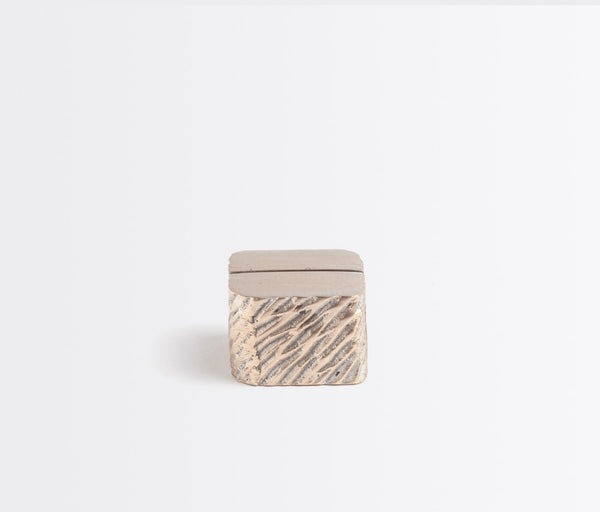 Zachary Card Holder - Tarnished Silver