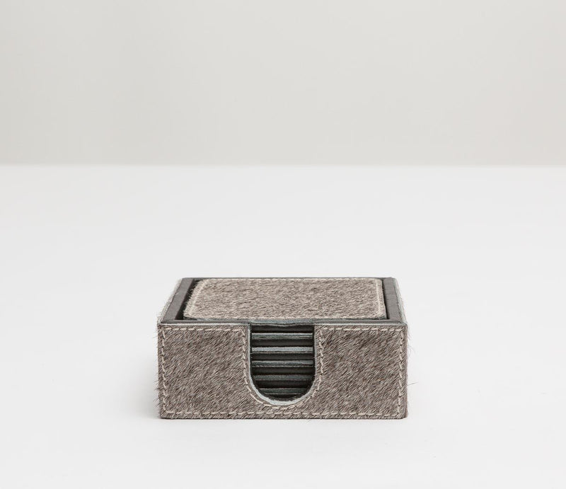 Browmley Coaster Set - Gray