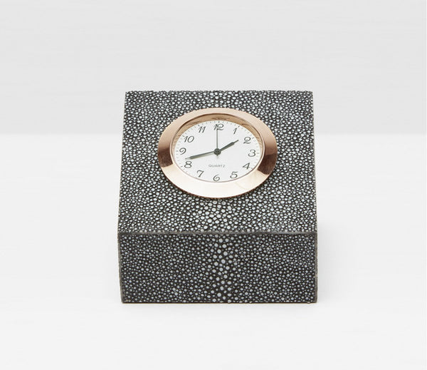 Marle Clock - Cool Gray