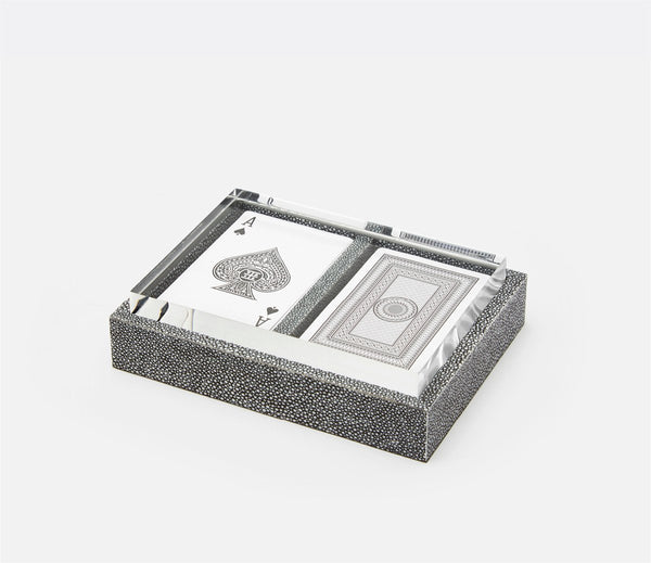 Middelburg Box Set with Two Decks of Cards - Cool Gray