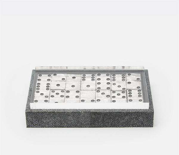 Treviso Domino Box Set - Cool Gray