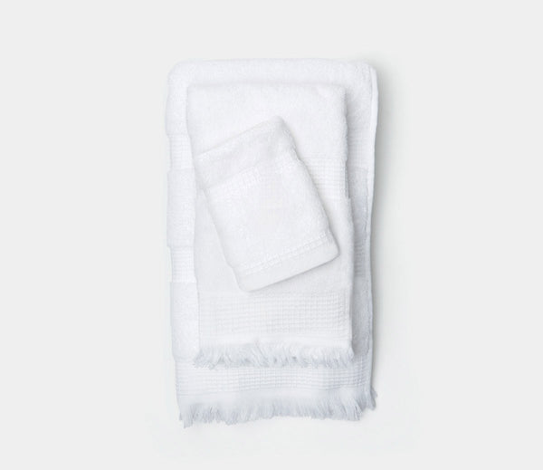 Annecy Towel - White