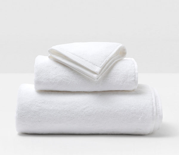 Geneva Towel - White
