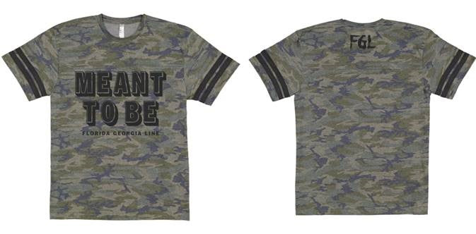 NEW!!  Camo Meant To Be Tee